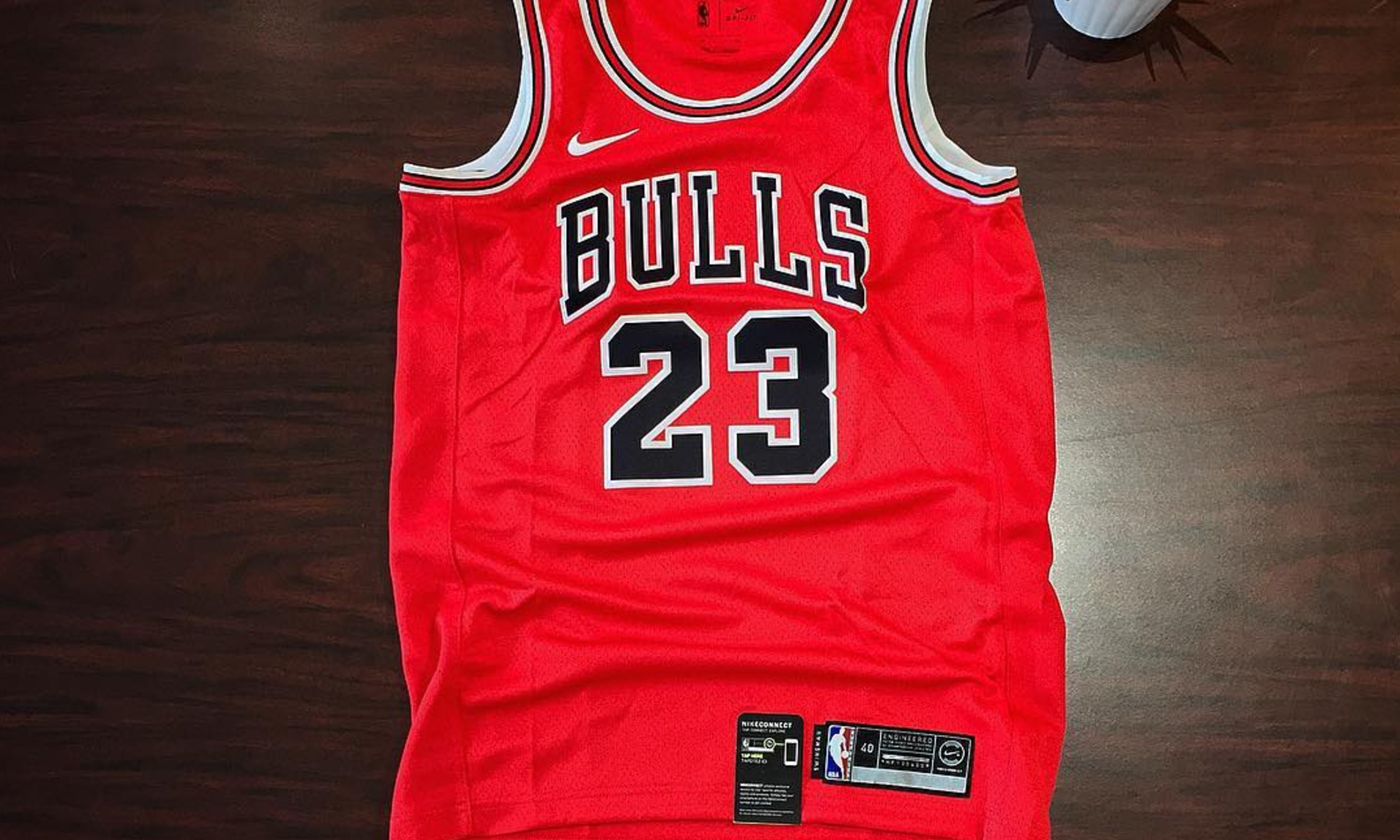 huge selection of 53d8c da289 Michael Jordan's Bulls Jersey Returns in Swoosh Mode ...
