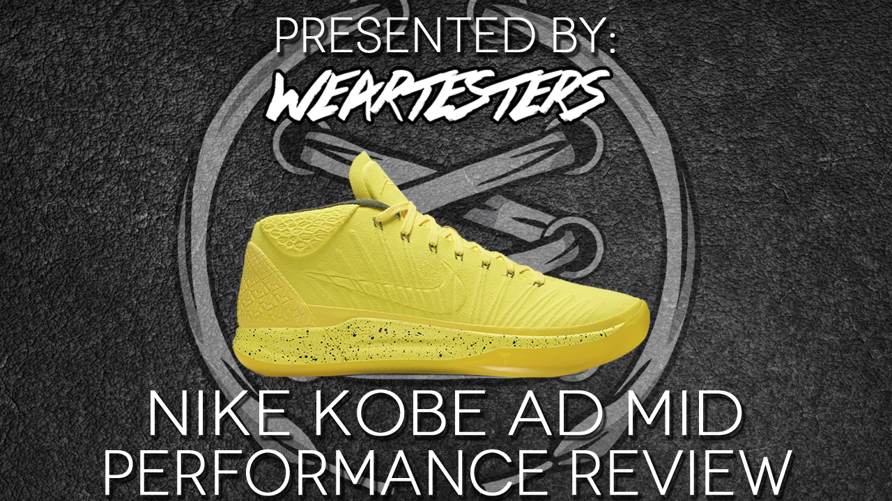 newest 33976 4ec3a Nike Kobe AD Mid Performance Review - WearTesters
