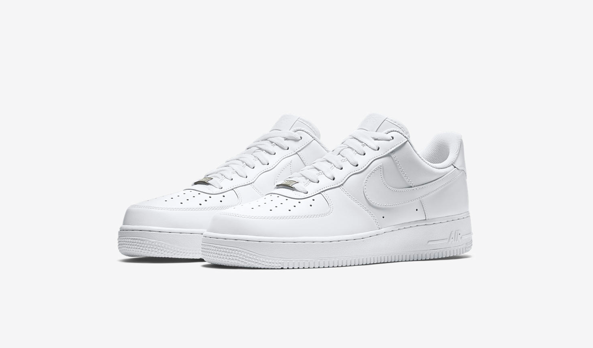 Nike Revives Classics with the Triple White Air Force 1 Pack