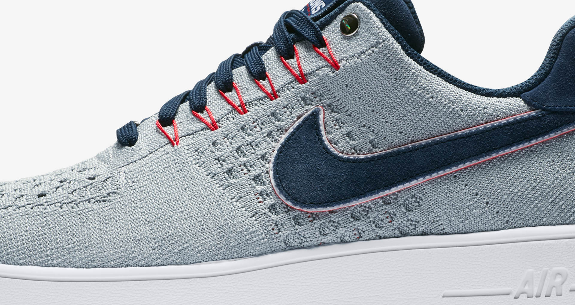 sports shoes 3895d 6466b ... Patriots AH8425-001 The Nike Air Force 1 Ultra Flyknit Low RKK is set  to drop on Friday, ...