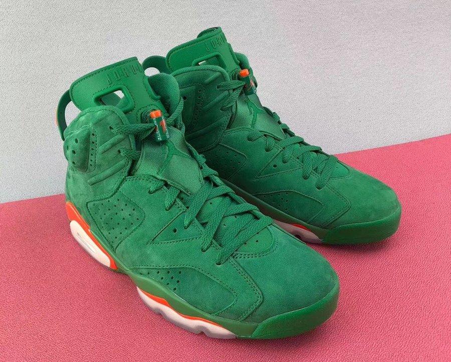 hot sale online 24bea 84d5e Detailed Look at the Air Jordan 6 'Gatorade' - WearTesters