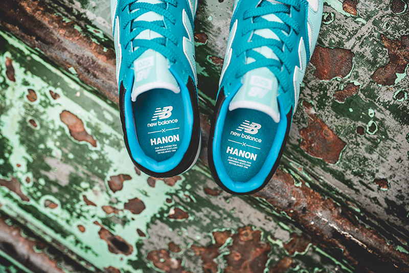 hanon new balance U520HNF fishermans blues 7