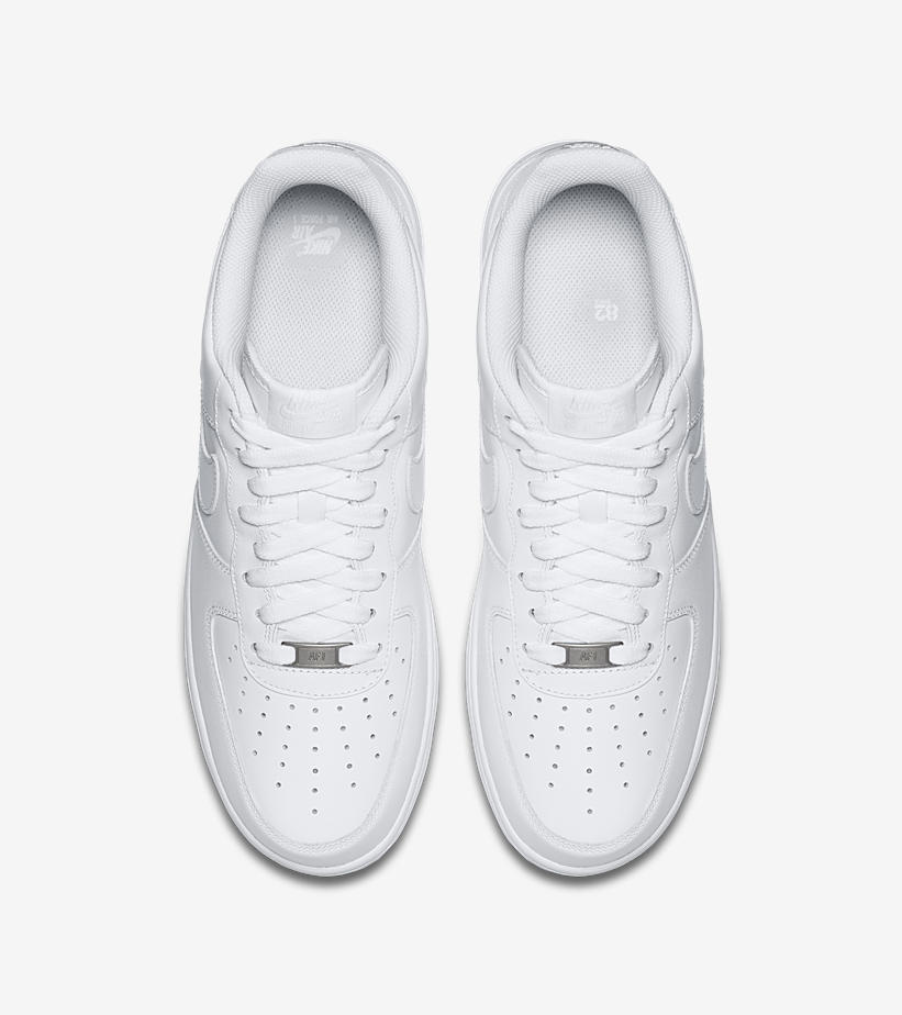 new style 4f1f6 48165 Nike Revives Classics with the Triple White Air Force 1 Pack ...
