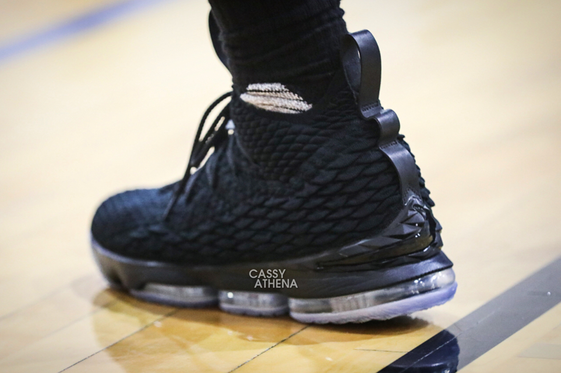 huge selection of a92f2 aad0e There's a Triple Black LeBron 15 - WearTesters