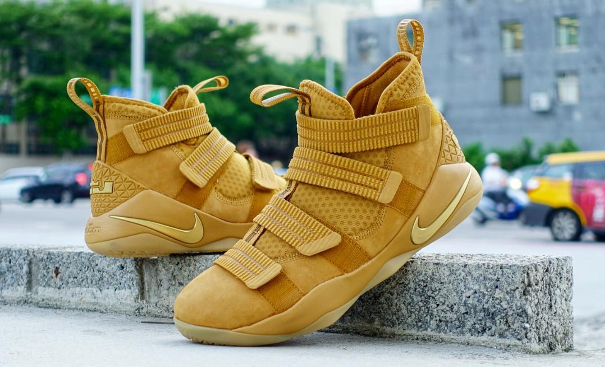 best service 6083e 422b8 There is a Wheat Nike LeBron Soldier 11 SFG Coming - WearTesters