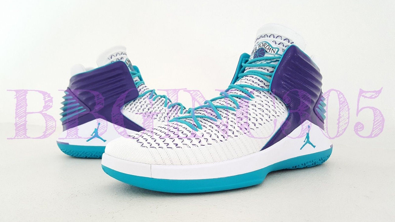 more photos 80de9 c504a ... Another Charlotte Hornets Air Jordan 32 PE Lands on eBay - W ...