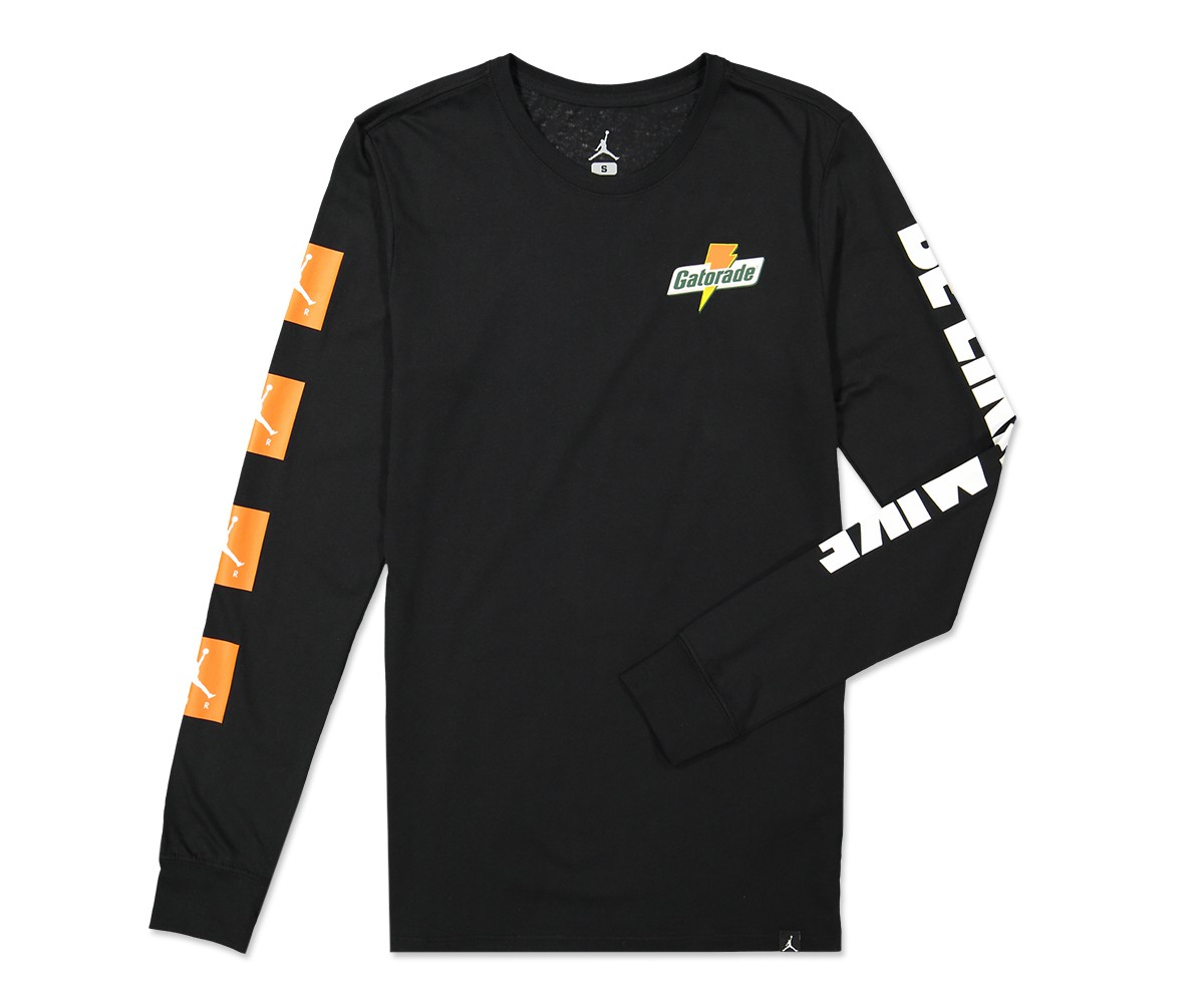 7c68de950d4f30 detail 2 view of mens air jordan 6 be like mikes long sleeve t shirt ...