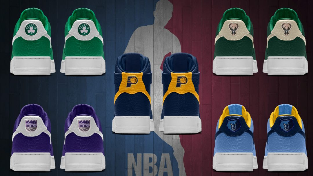 more photos 4ac7c 9858e ... good 4df07 ff3b3 NBA Team Logos Now Available on NIKEiD for the Air .  ...