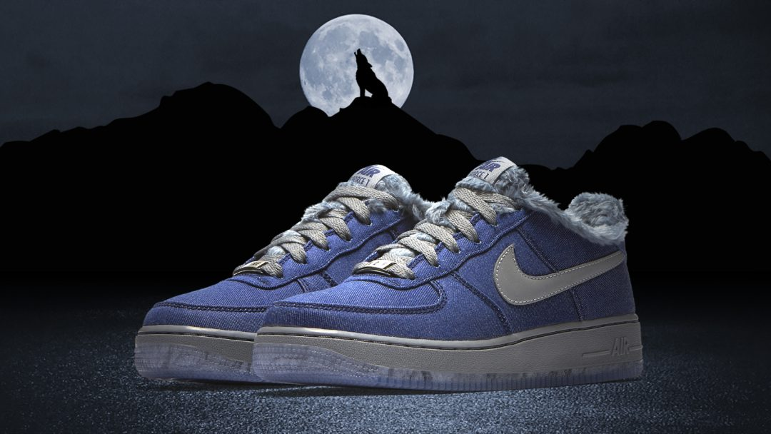 Nike Air Force 1 GS Full Moon friday the 13th 10. Oct11. Kicks ...
