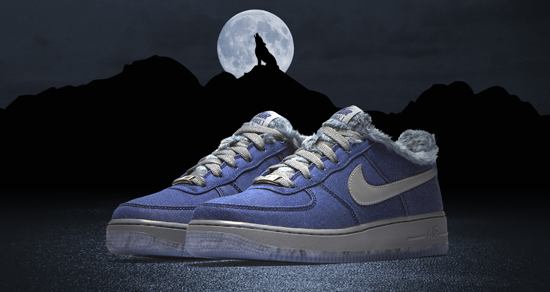 Nike Unleashes the Air Force 1 GS 'Full Moon' for Friday the
