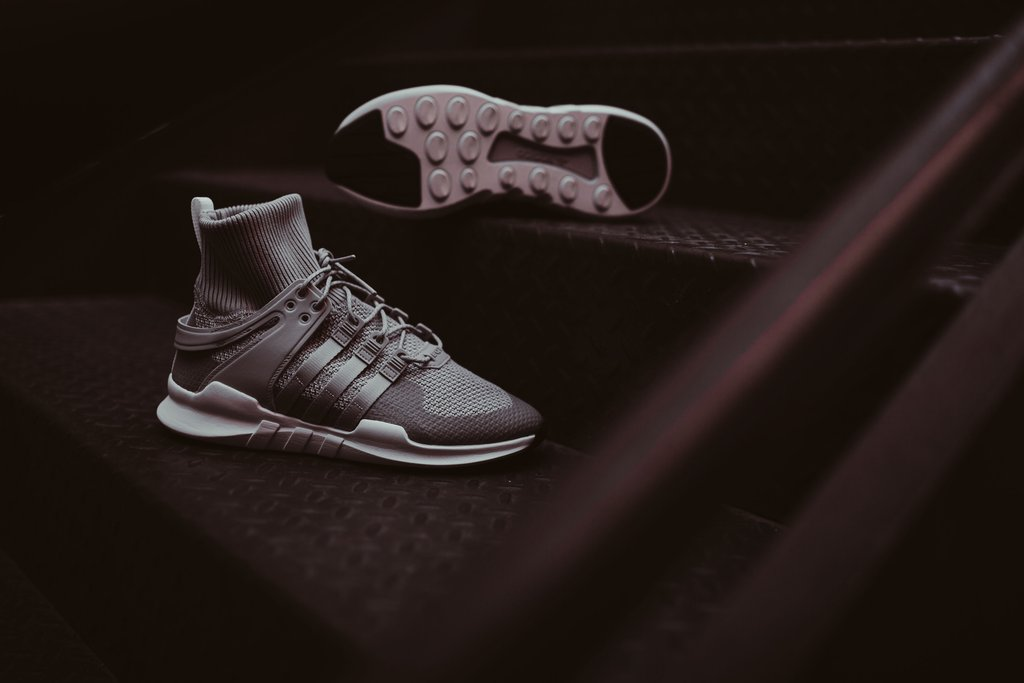 save off 8e329 592ec The adidas EQT Support ADV Winter Drops in 'Grey Two ...