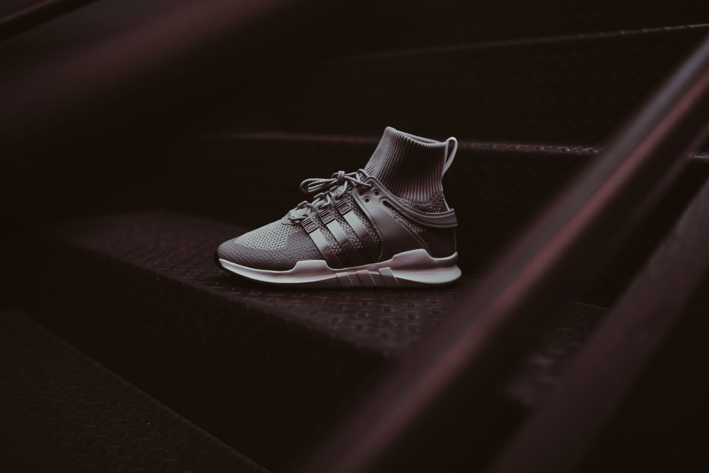 save off d2043 596b9 The adidas EQT Support ADV Winter Drops in 'Grey Two ...