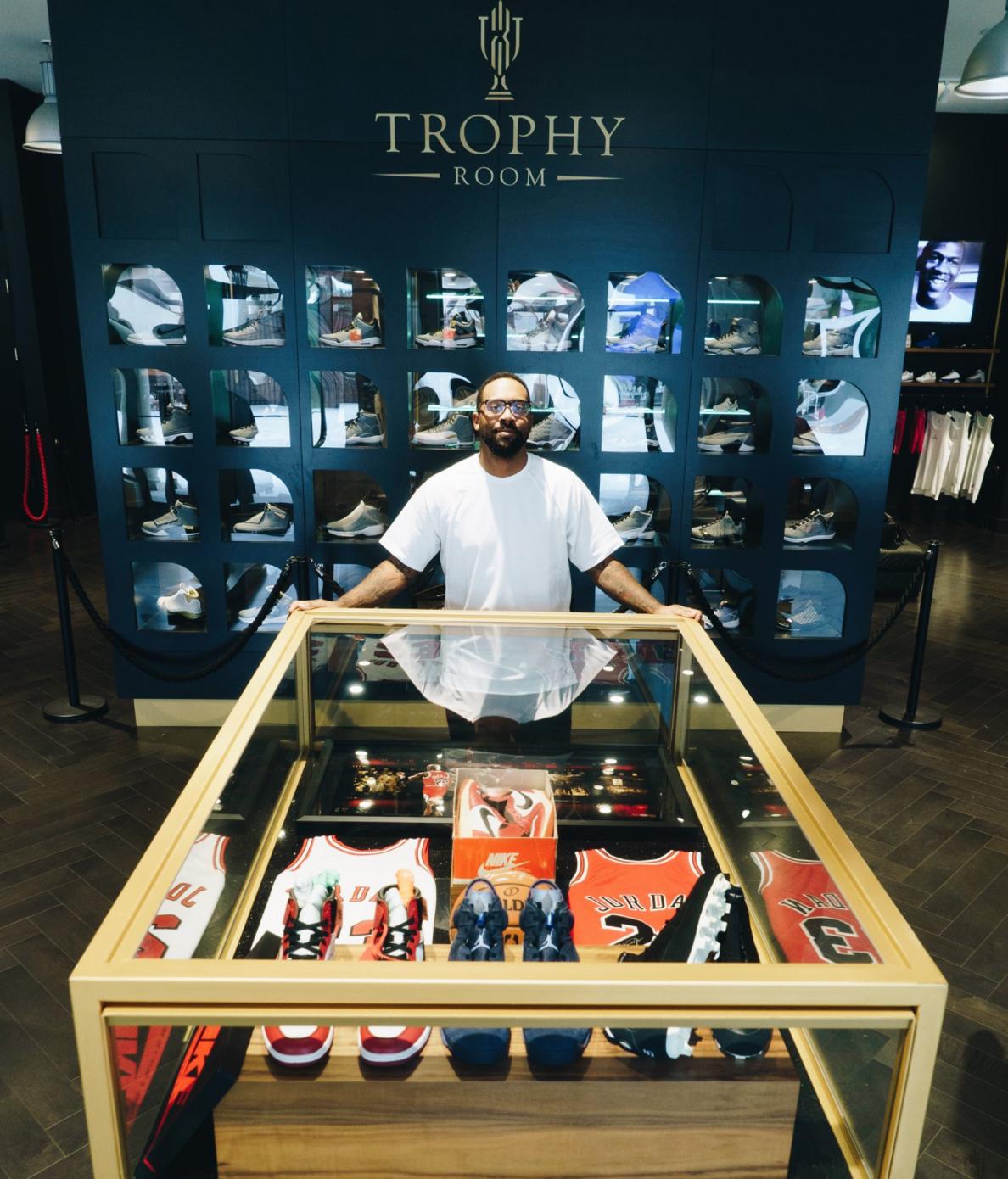 Michael Jordan Sneakers Memorabilia Trophy Room 10