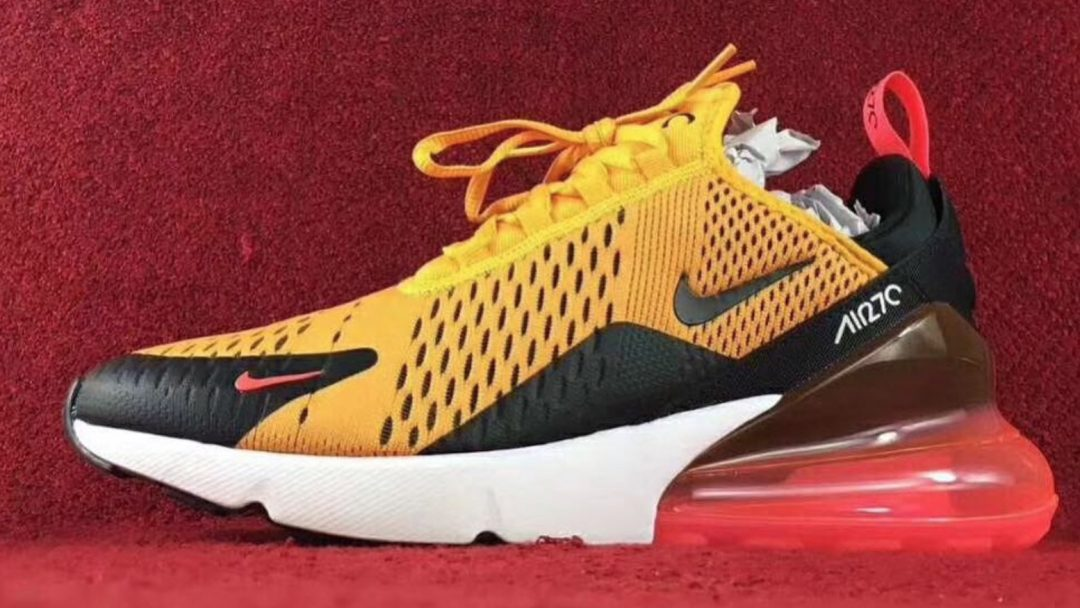 nike air max 270 yellow