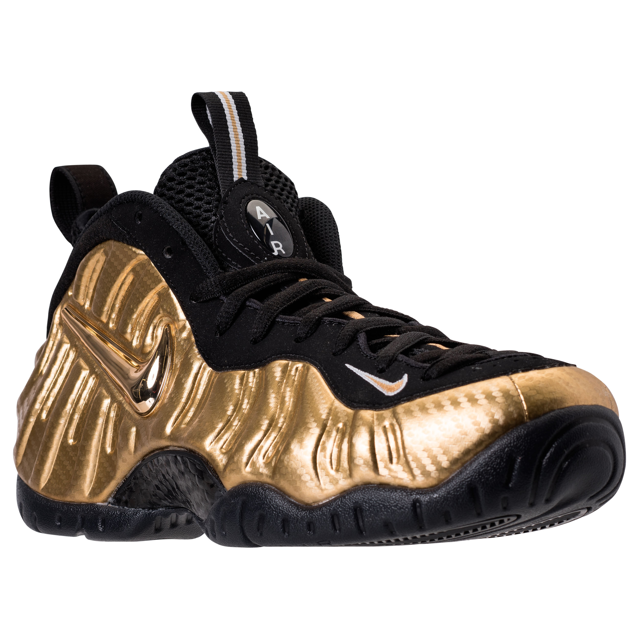 huge discount 1685b 95c6f Detailed Look at the Air Foamposite Pro 'Metallic Gold ...