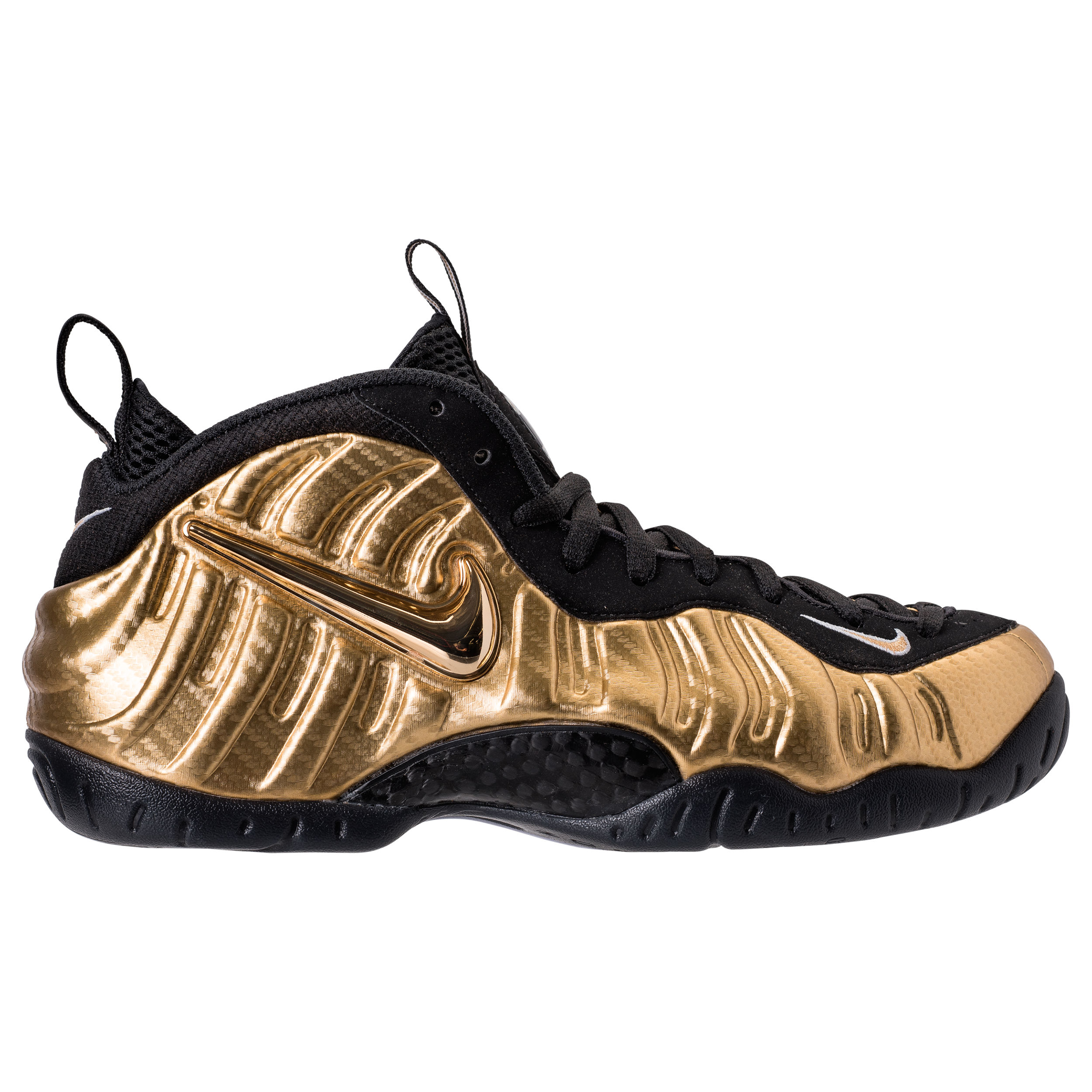nike air foamposite pro metallic gold 2