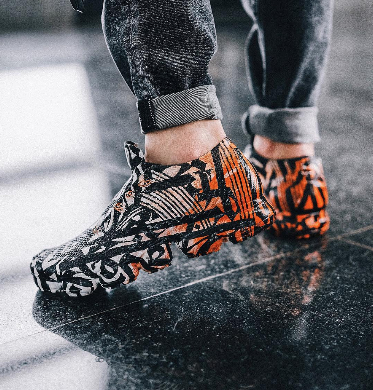 best service 99342 9f111 These Pokras Lampas Calligraffiti Nike VaporMax Customs are ...