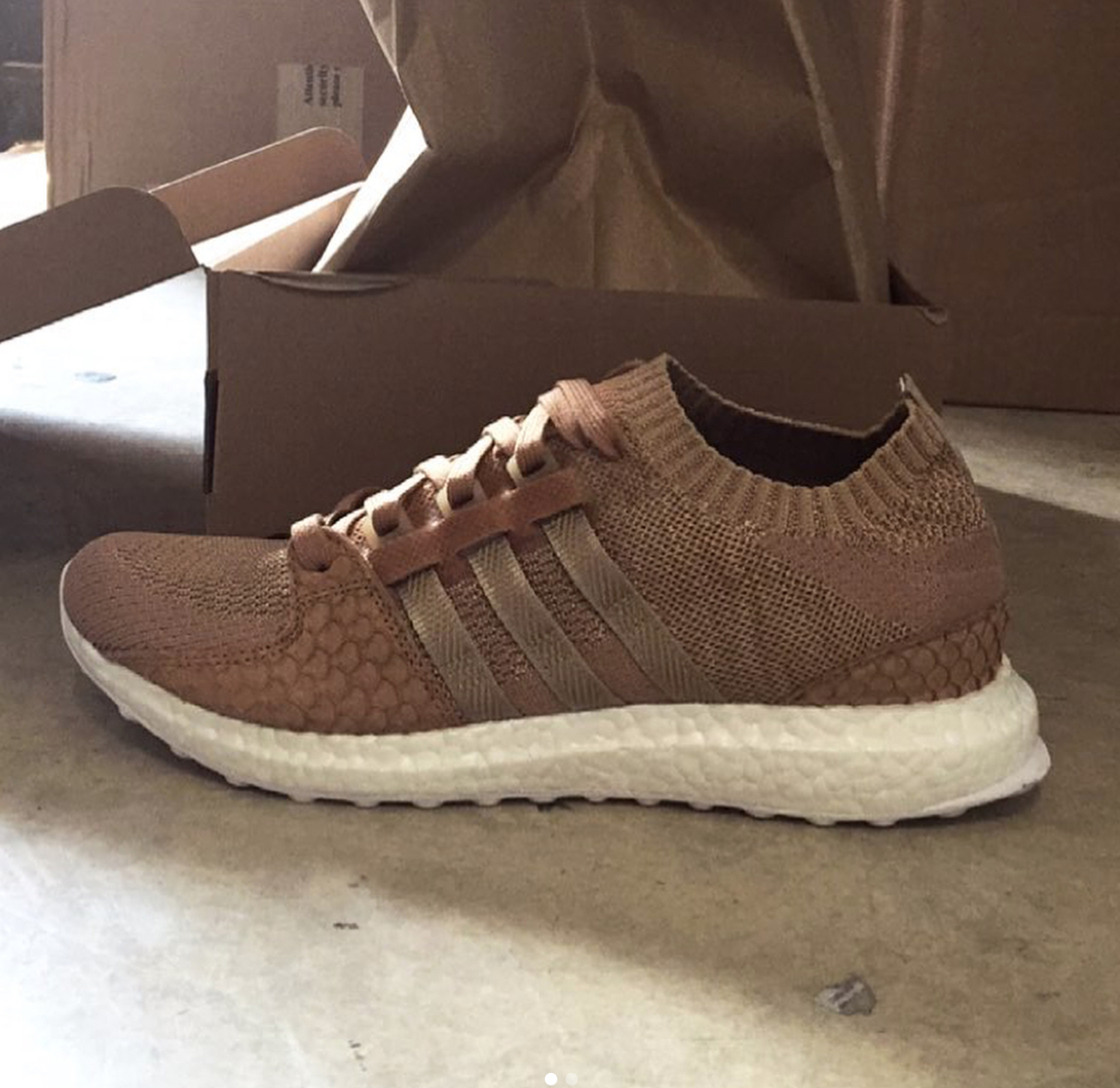 online retailer cbee6 034b4 There May Be Another Pusha T UltraBoost EQT Support King ...