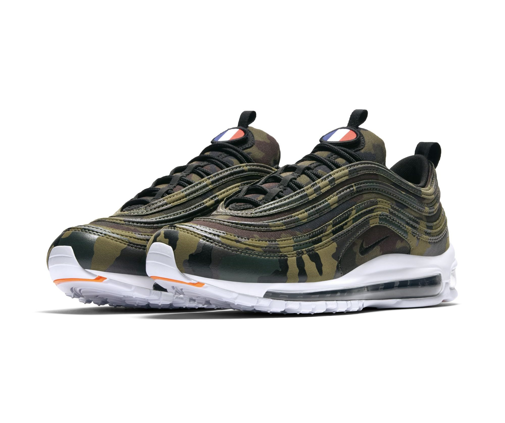big sale ff651 f6171 The Nike Air Max 97 Premium Camo Pack is for France, Germany ...
