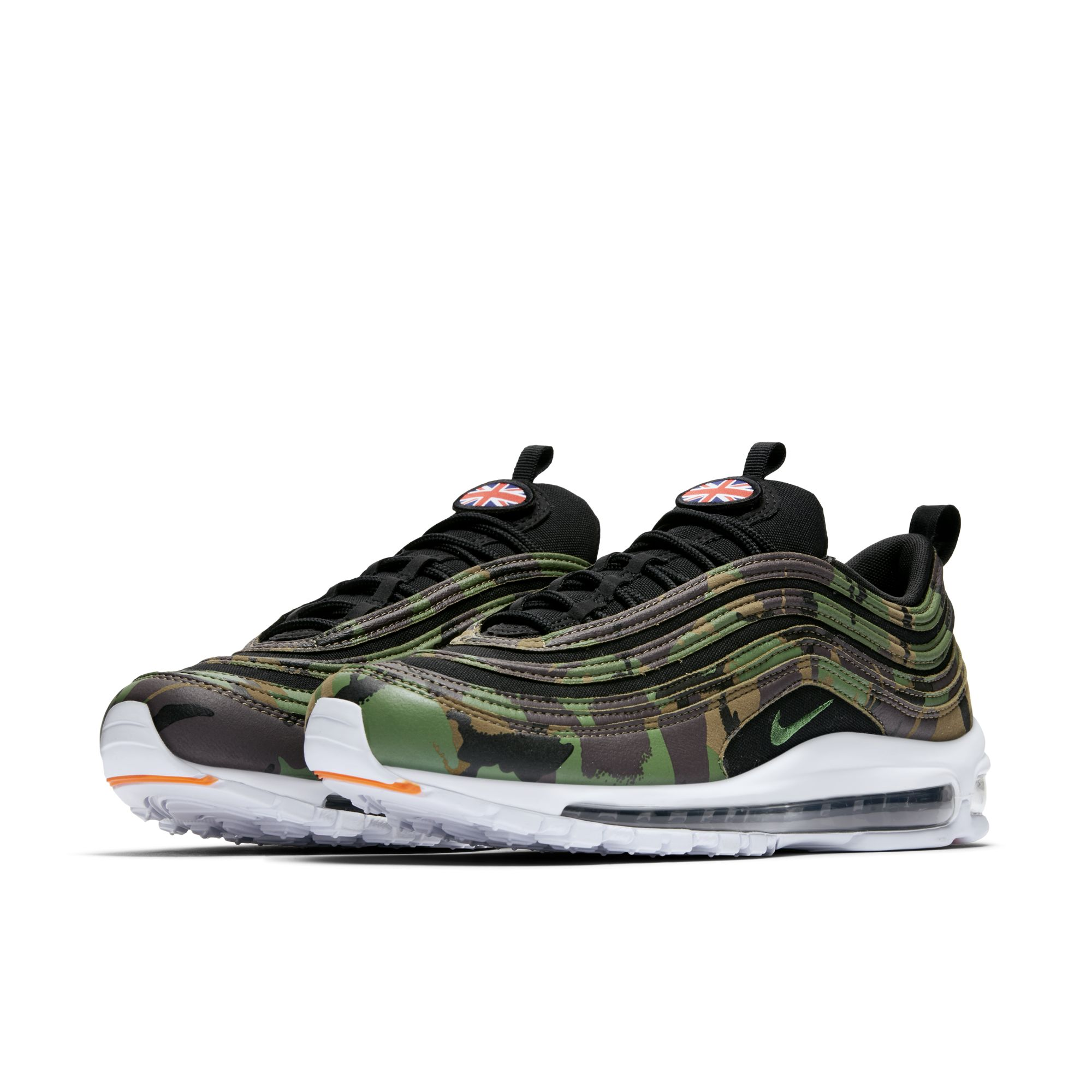 big sale 5405e 921e7 The Nike Air Max 97 Premium Camo Pack is for France, Germany ...
