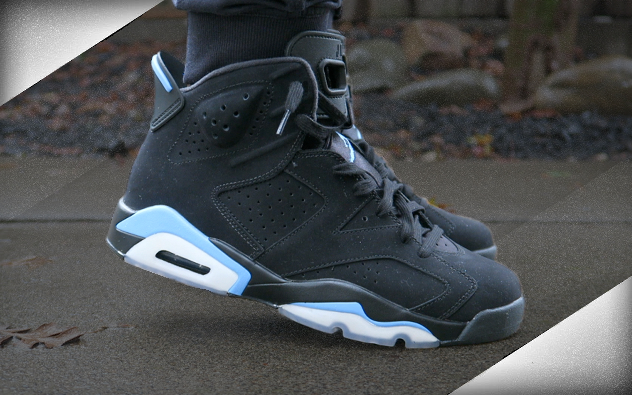 what to wear with unc 6s