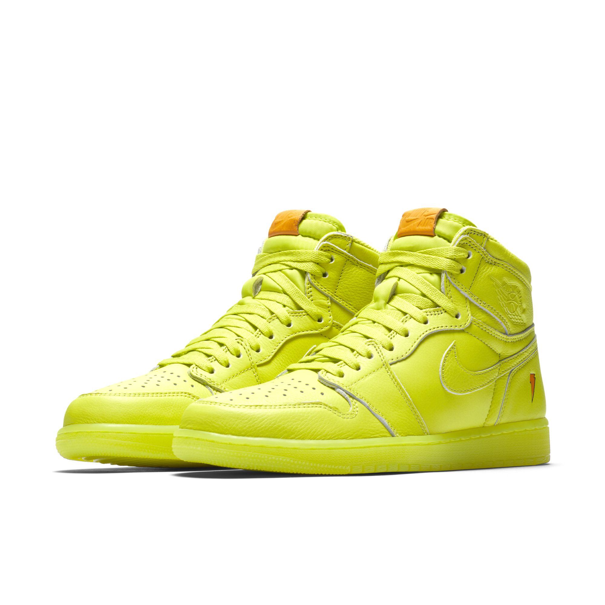 release date: 988d2 c2234 The Gatorade x Air Jordan 1 Retro High Goes Lemon-Lime ...