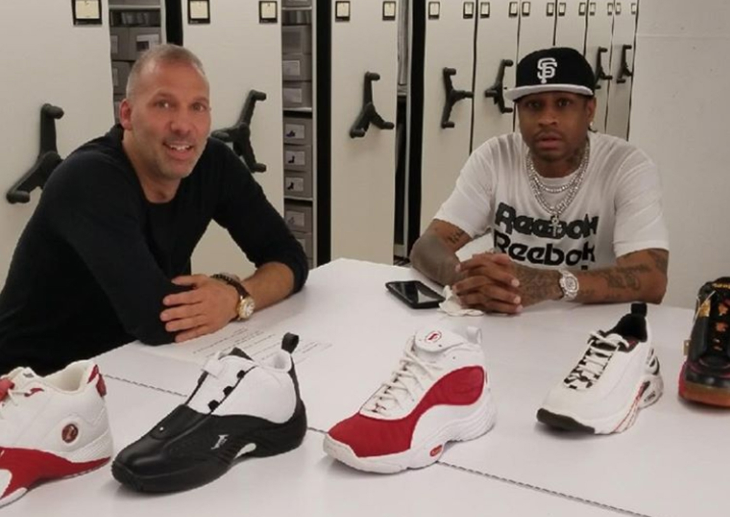 fragmento portátil incrementar  Allen Iverson and Reebok Announce I3 Legacy Collection - WearTesters
