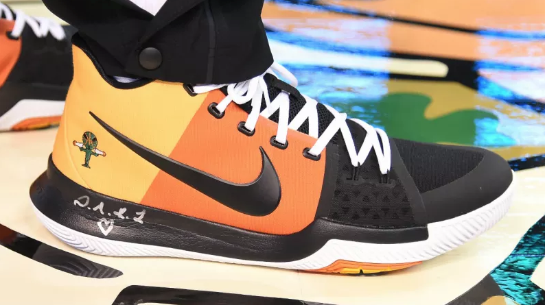 Kyrie Irving Debuts 'Raygun' PE of the