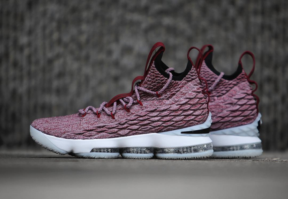 reputable site 7f23f ace59 Up Close and Personal with the Nike LeBron 15 for Cleveland ...