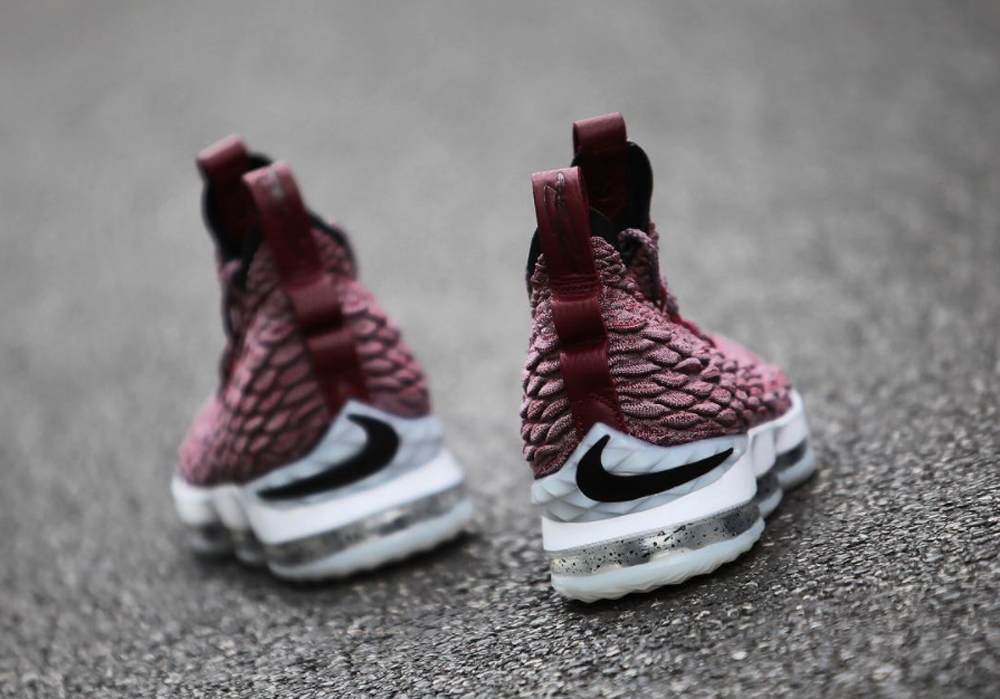 reputable site 95be1 5d530 Up Close and Personal with the Nike LeBron 15 for Cleveland ...