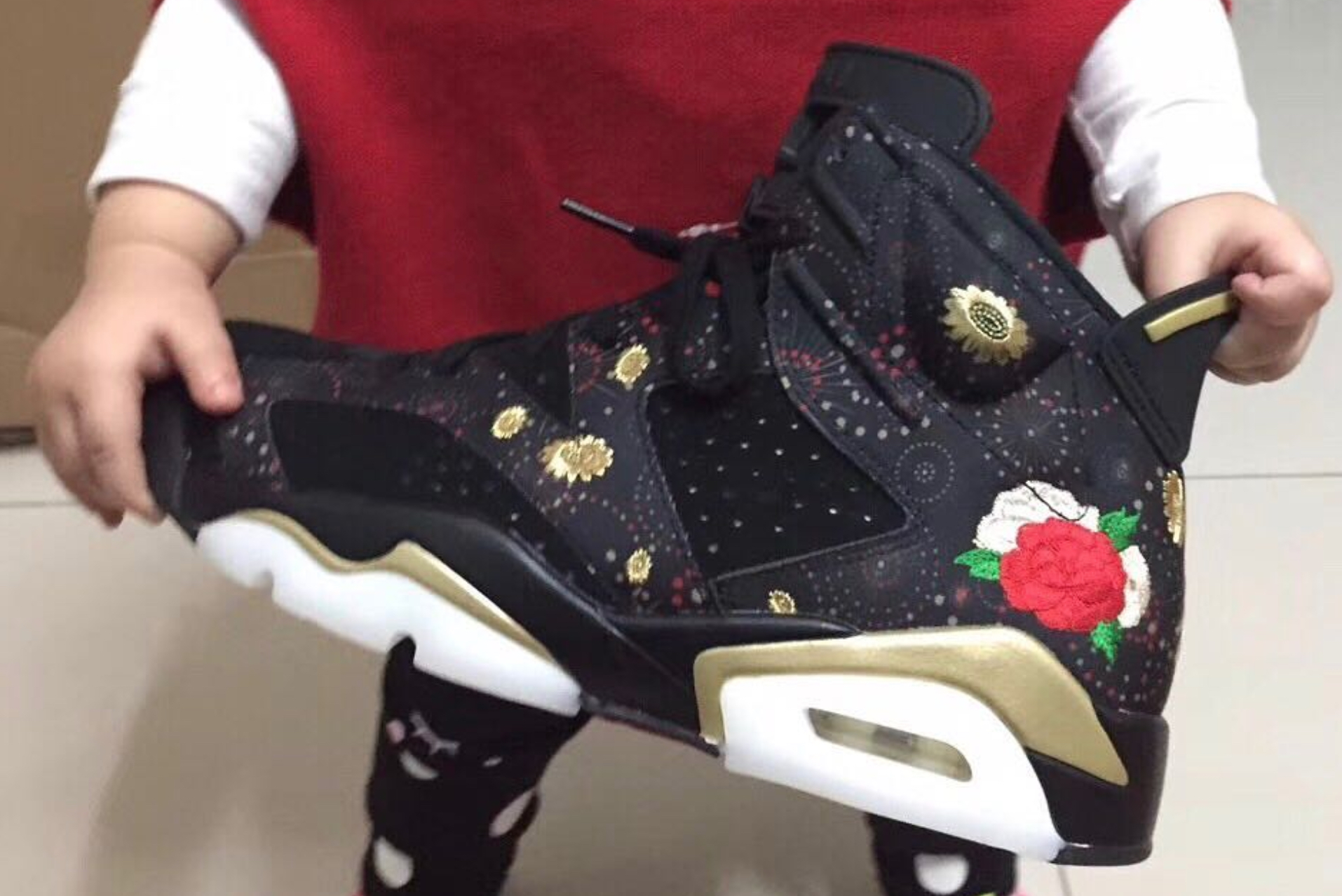 finest selection bafd9 4c438 First Look at the Air Jordan 6 Retro 'Chinese New Year ...