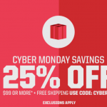 Deals: Cyber Monday Savings at Eastbay – 25% Off $99 or More