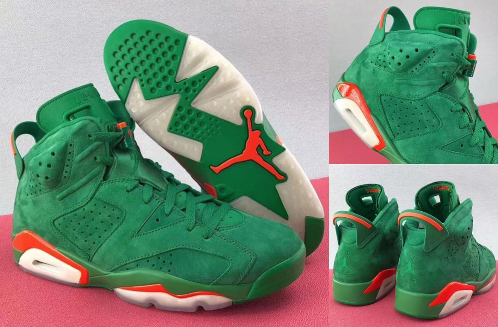 pretty nice 61a34 0e780 The Premium Gatorade Air Jordan 6 'Like Mike' May Be Your ...