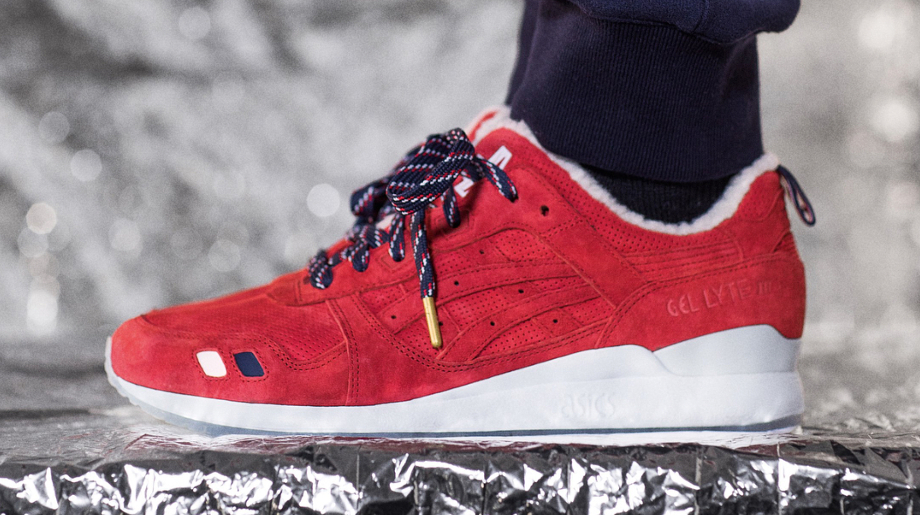 50% zniżki szeroki zasięg cienie Moncler, Asics, and Kith Link for Winter Footwear and ...