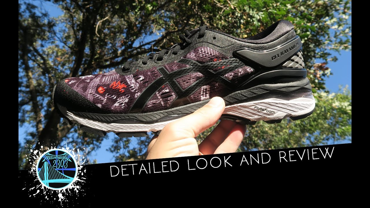 A Detailed Look at the ASICS GEL-KAYANO 24 NYC Marathon Edition - WearTesters