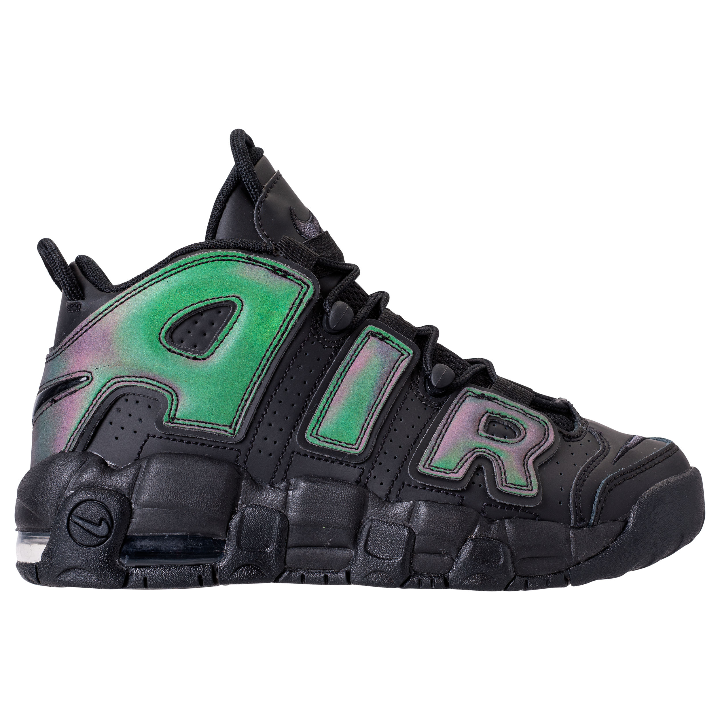 The Reflective and Iridescent Air More Uptempo is Launching