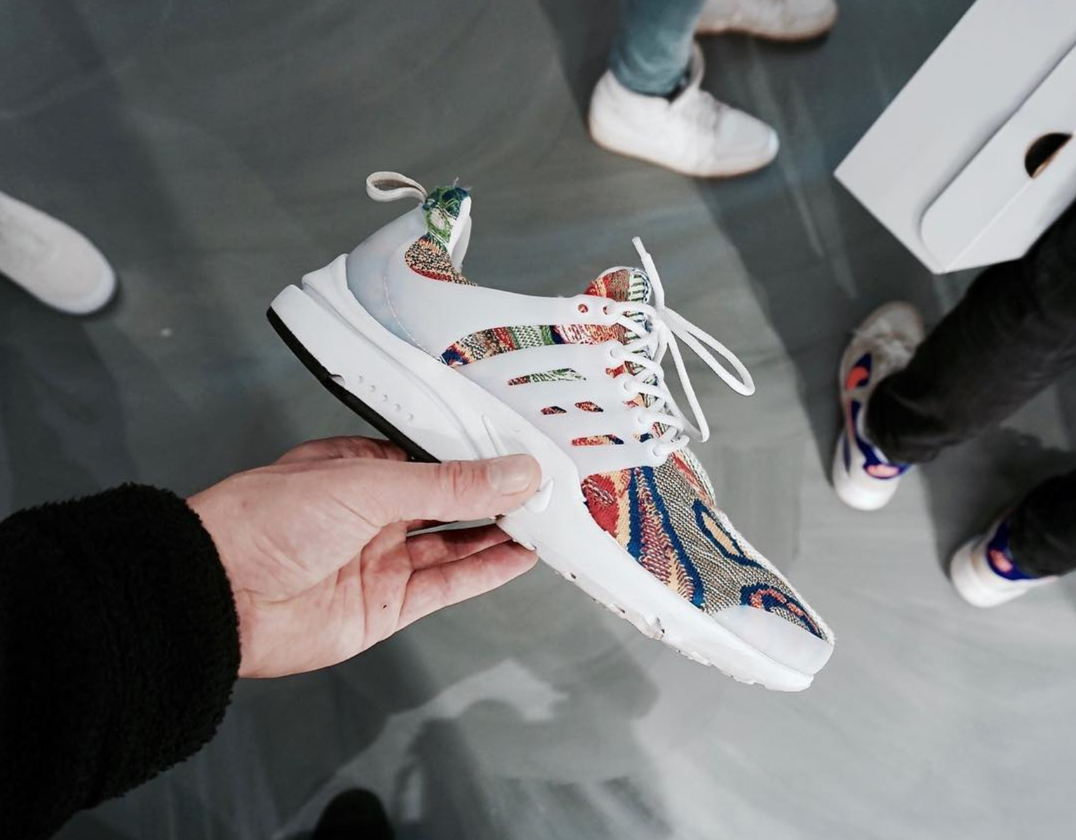 sports shoes b4fe5 02ed6 These Nike Air Presto Coogi Customs are Getting a Wider ...