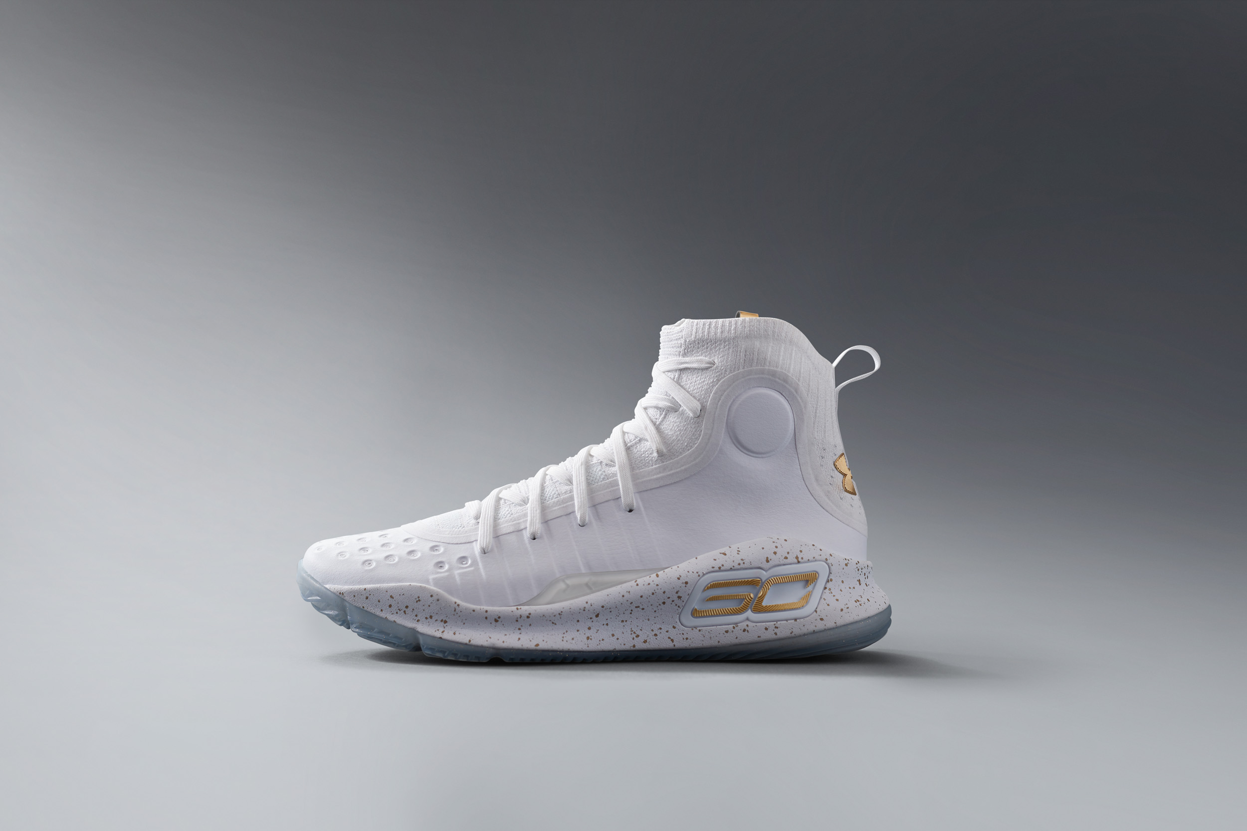 super popular ea494 c9187 The Under Armour Curry 4 White/Gold Drops This Saturday ...