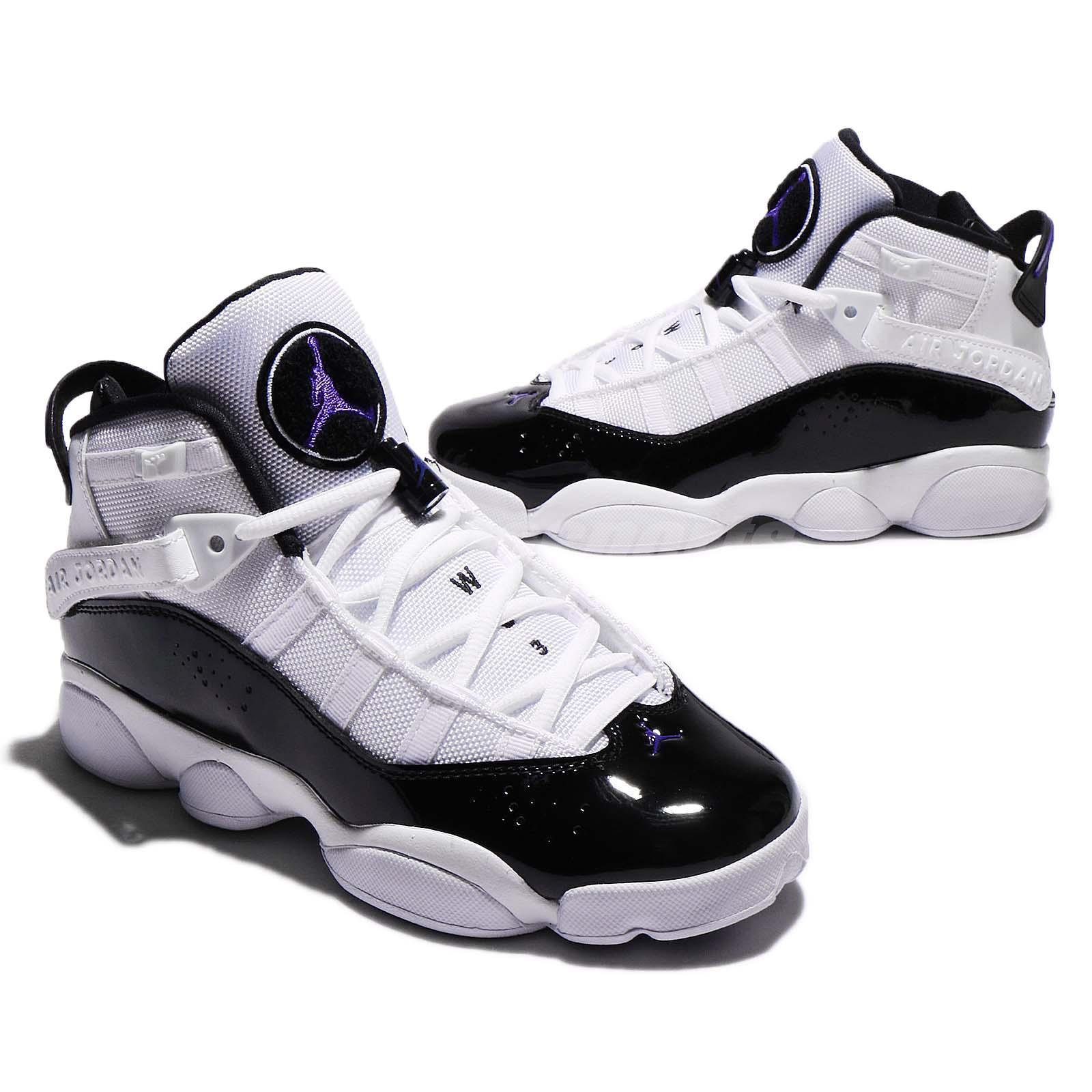 Only the Jordan 6 Rings in the 'Concord' colorway is available in men's  sizes at this time, but we'll be sure to update you once we see them  available ...