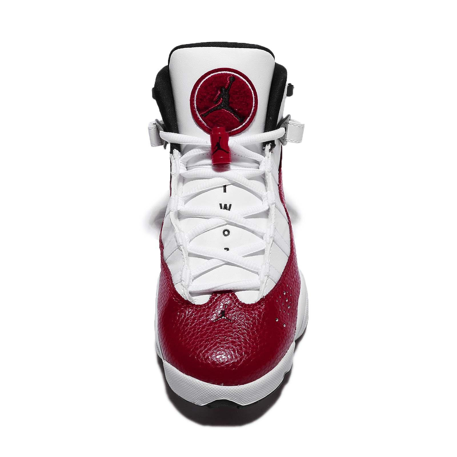 outlet store b68d2 a757d Air-Jordan-6-Rings-2018-White-Red-3 - WearTesters