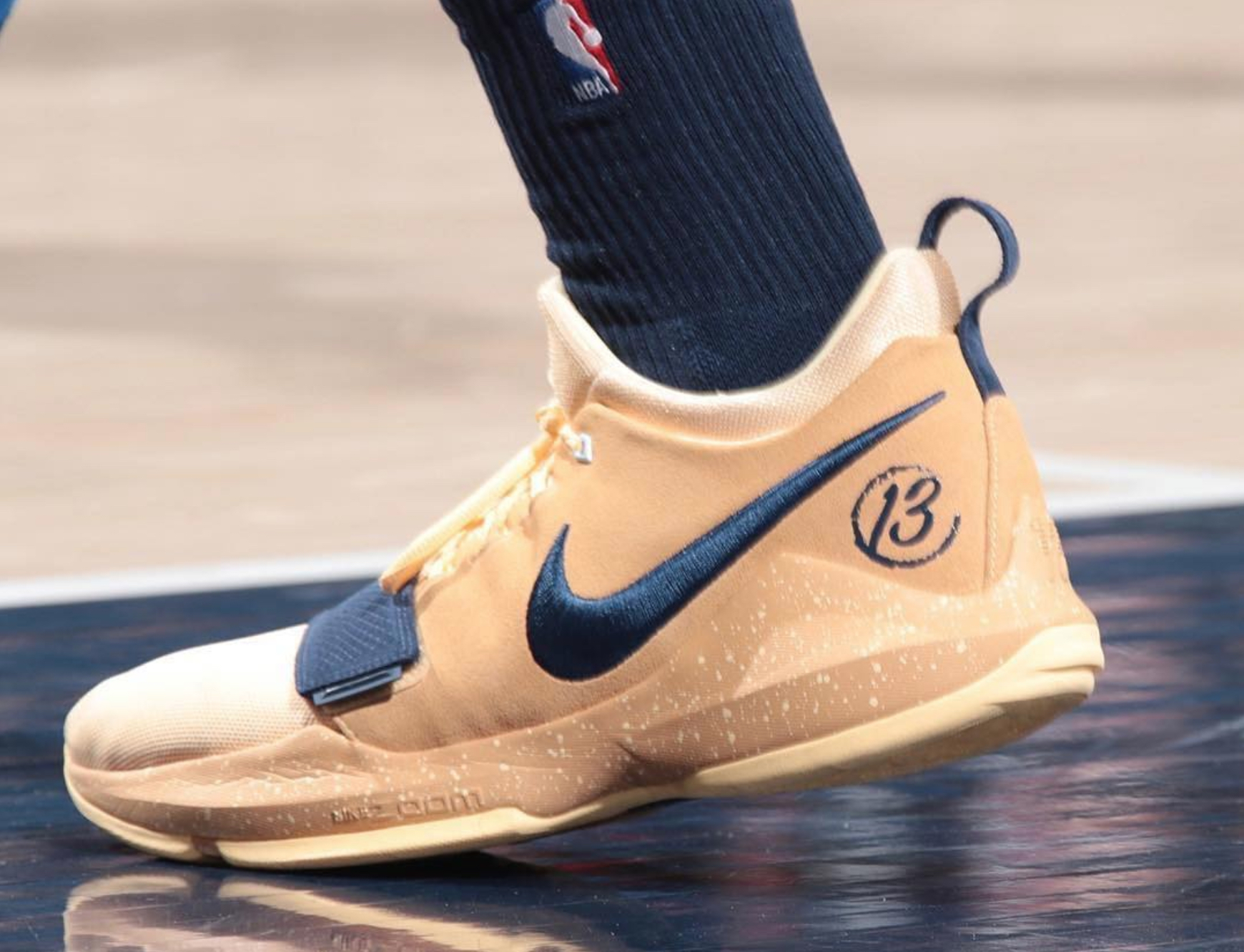 best loved 8d987 10360 You Can Buy Paul George's Nike PG 1 Wild West PE Today ...