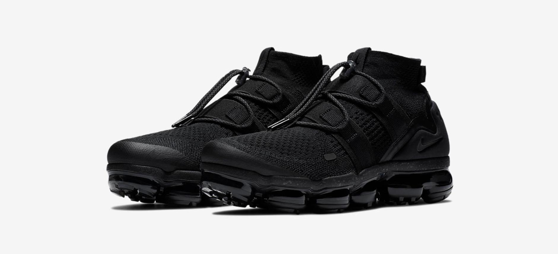 new product 7edec 10473 Nike Unveils the Air VaporMax Utility 'Maximum Black ...