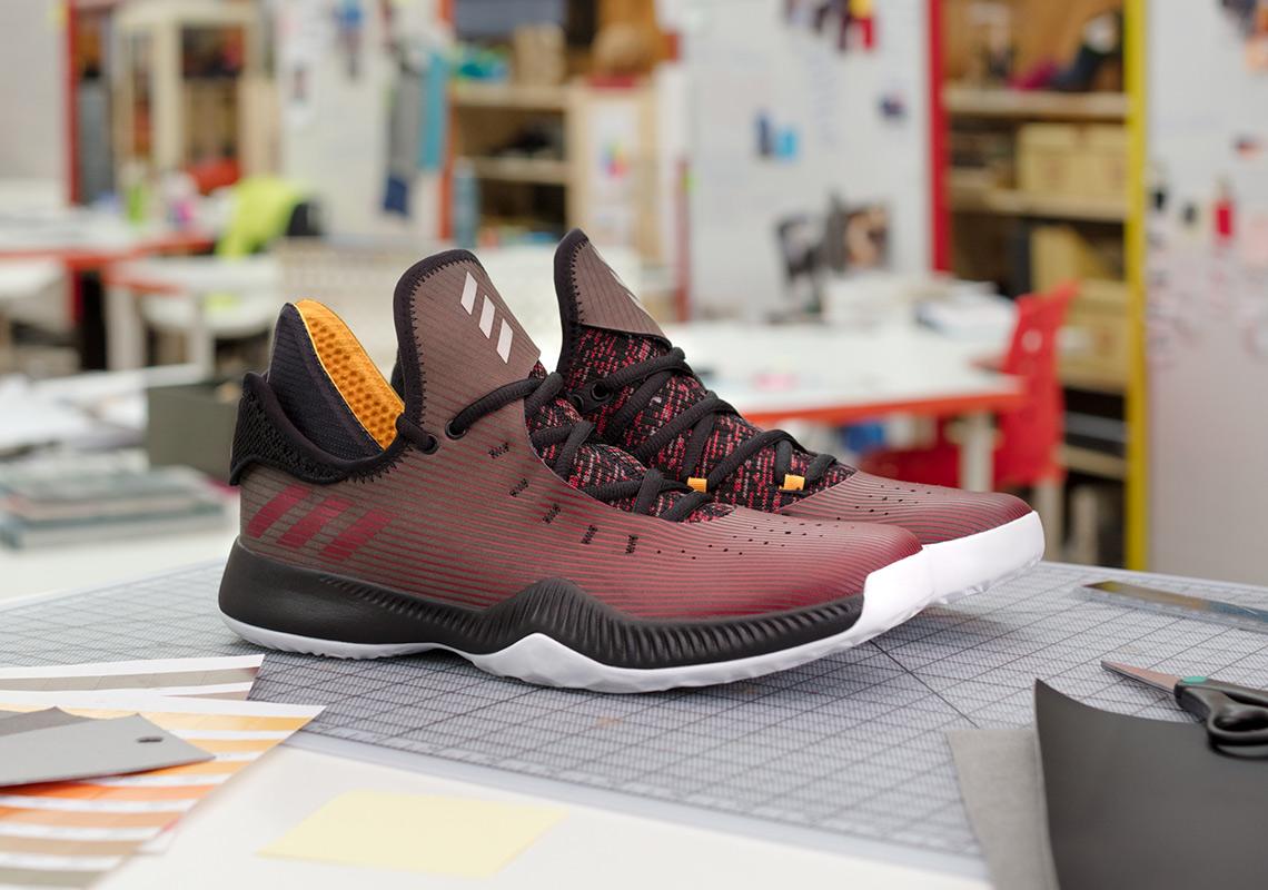 The James Harden Shoe Nu Black Designed