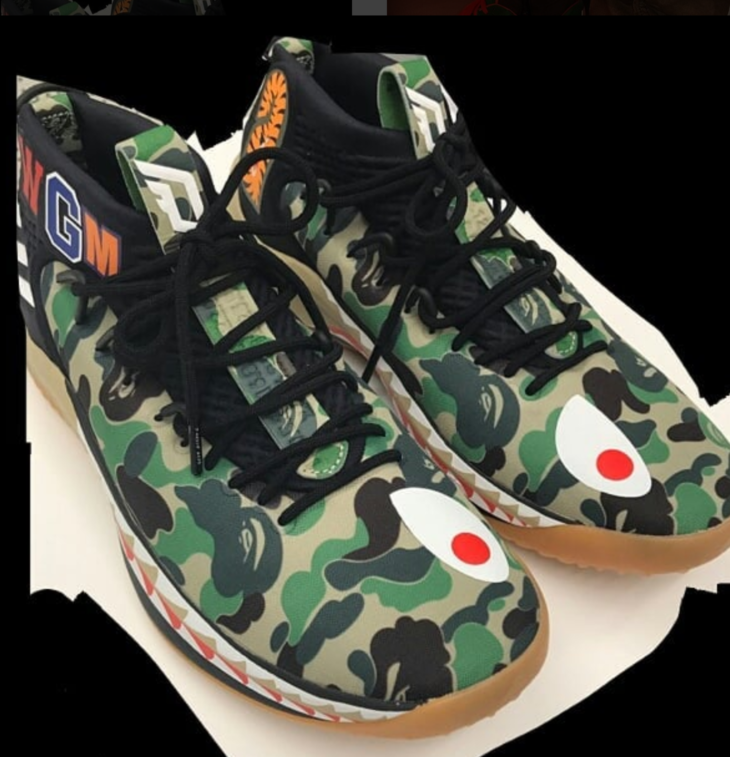 official photos 2a021 0aac8 ... This Could Be One of the BAPE Dame 4 Colorways - WearTesters ...