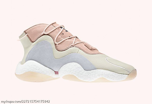 new styles 79c2e adbaf The adidas Crazy BYW LVL I Surfaces in Pastel Leather Build ...