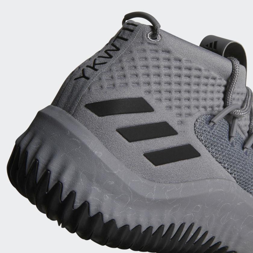 adidas dame 4 gray