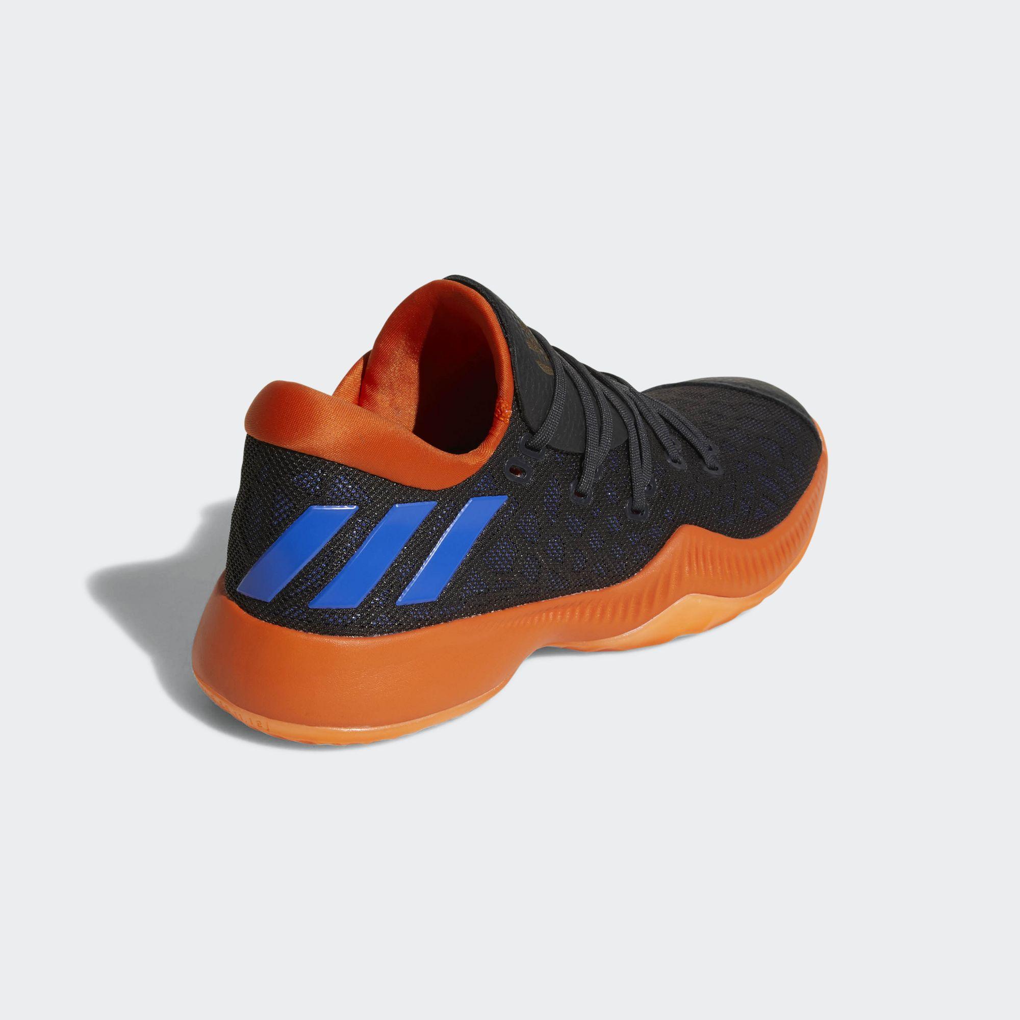 adidas harden b/e black orange blue 1