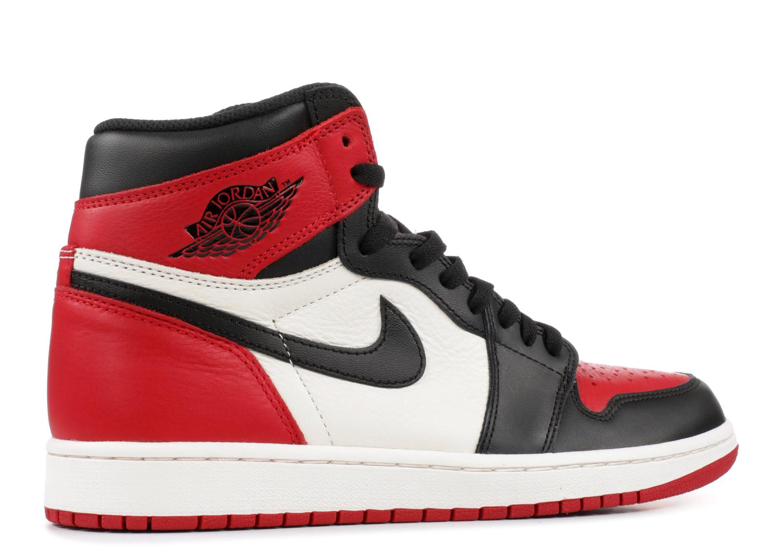 The Air Jordan 1 'Bred Toe' Isn't Far Off... - WearTesters Jordan 3 Bred