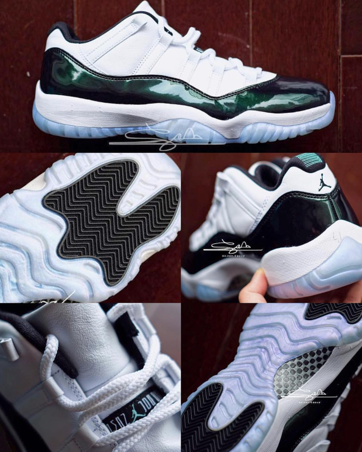 air jordan 11 low easter 5