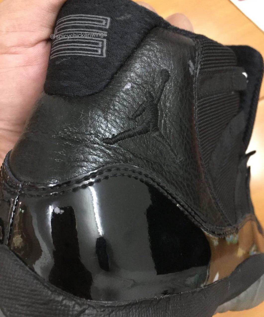 Air Jordan 11 Retro Blackout vCxk3xL